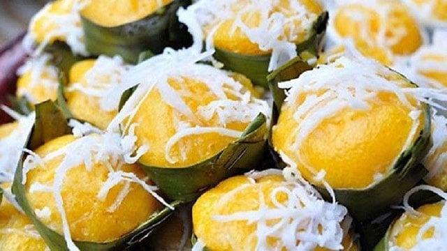 Tổng hợp đặc sản An Giang: Bánh bò thốt nốt Châu Đốc - Vietflavour