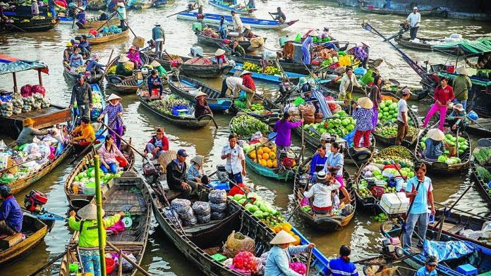 Miền Tây có bao nhiêu chợ nổi? Tổng hợp các chợ nổi ở miền Tây - Vietflavour