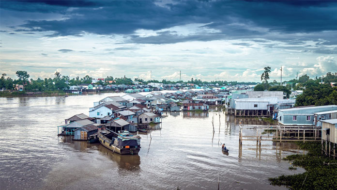 Miền Tây có bao nhiêu chợ nổi? Chợ nổi Châu Đốc An Giang là một trong các chợ nổi lớn nhất miền Tây - Vietflavour