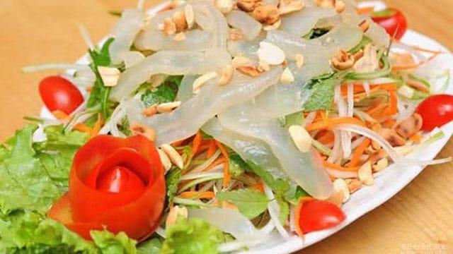 Gỏi sứa có tại rất nhiều tỉnh thành miền biển của Việt Nam