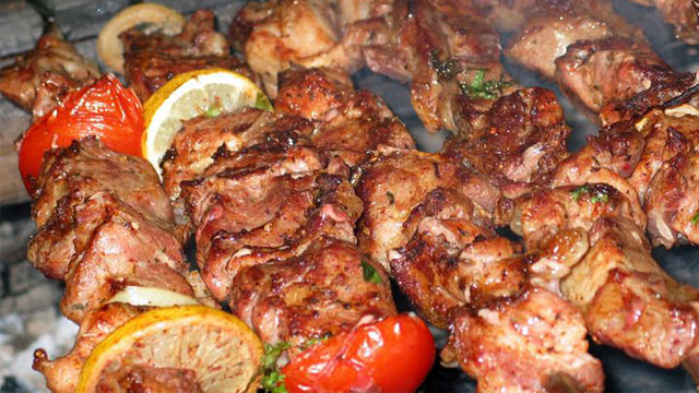 Tổng hợp đặc sản Bà Rịa Vũng Tàu: Thịt nướng kiểu Nga - Đặc sản Vũng Tàu - Vietflavour