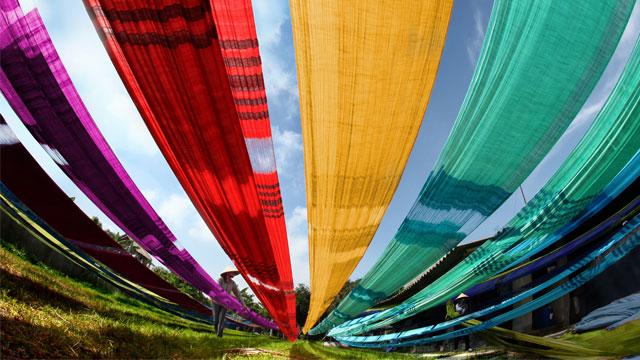 Các làng nghề truyền thống quanh Hà Nội: Làng lụa Vạn Phúc, Hà Đông - Vietflavour