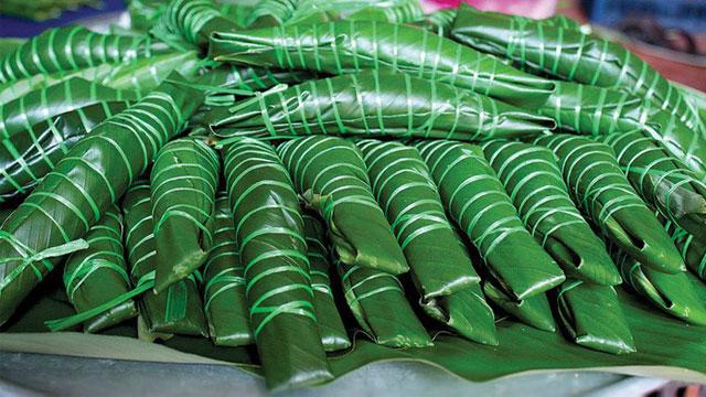 Tổng hợp đặc sản Yên Bái: Bánh chim Gâu - VietFlavour.com