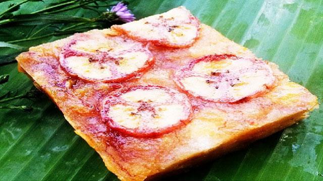 Tổng hợp tất cả đặc sản Yên Bái: Bánh chuối Lục Yên - VietFlavour.com