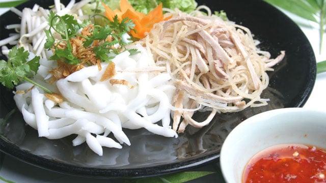 Tổng hợp tất cả đặc sản Bạc Liêu - Bánh tằm ngan dừa Bạc Liêu - VietFlavour