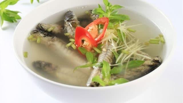 Cá kèo nấu giấm - Món ngon miền quê sông nước