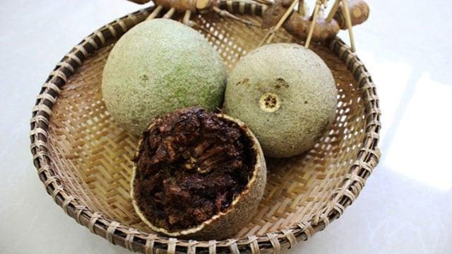 Trái quách có nhiều ở Trà Vinh nhưng không thông dụng trên thị trường - VietFlavour.Com