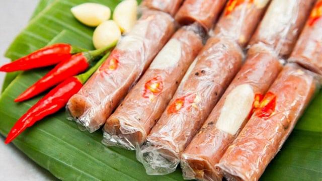 Nem chua là một trong những đặc sản nổi tiếng nhất của Thanh Hóa