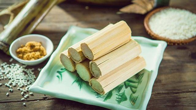 Cơm làm là món ăn truyền thống của người dân đồng bào dân tộc tại các vùng núi Việt Nam