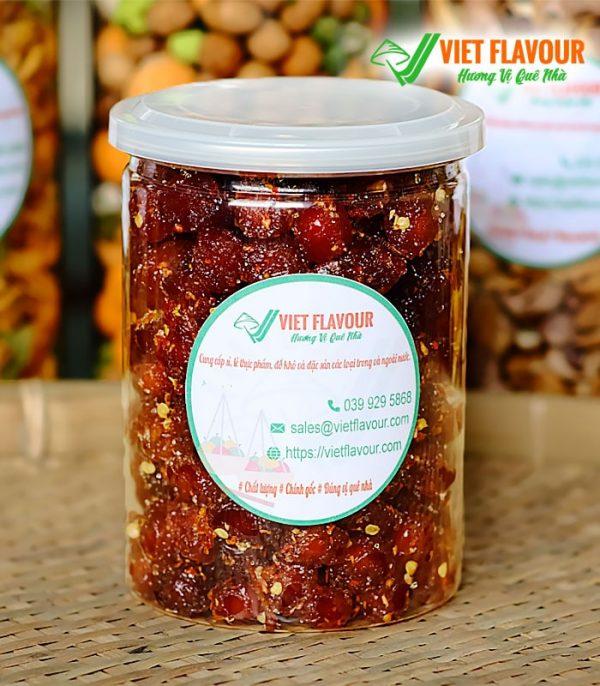 Mứt chùm ruột ngọt lắc muối ớt nhưng không cay, cơm dày, rất ngon, hàng chất lượng - 039 929 5868 | VietFlavour